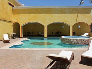 Hotel Pool - Los Algodones - Mexico