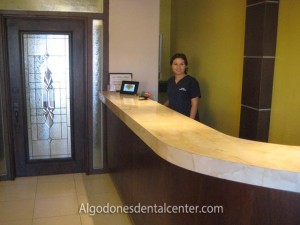 Friendly Staff Member at Dental-Clinic - Algodones, Mexico