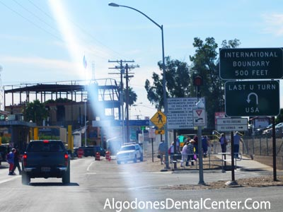 Andrade Border Crossing