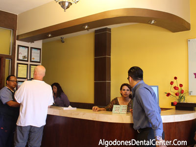 Reception Area at Algodones Dental Center