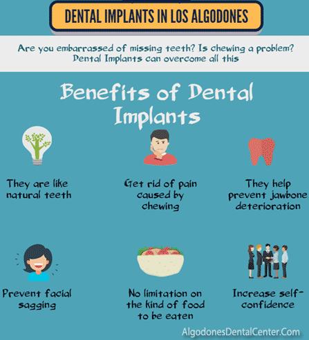 Benefits of Dental Implants - Infographic